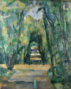 Paul Cézanne: Allee in Chantilly