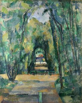 Paul Cézanne: Allee in Chantilly