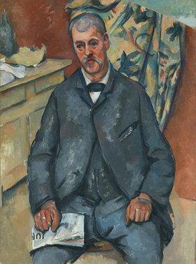 Paul Cézanne: Sitzender Mann