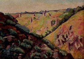 Jean-Baptiste Armand Guillaumin: Die Ruinen des Chateau de Crozant