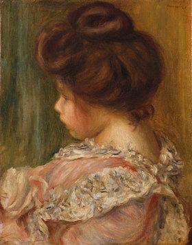 Auguste Renoir: Bildnis eines jungen Mädchens