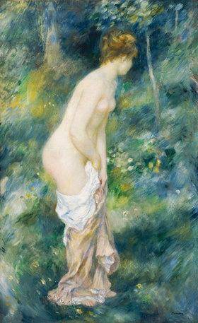 Auguste Renoir: Stehende Badende