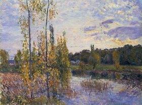Alfred Sisley: Landschaft bei Chevreuil