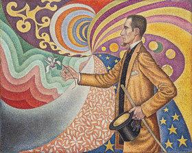 Paul Signac: Opus 217. Porträt von Félix Fénéon