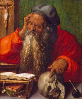 Albrecht Dürer: Der heilige Hieronymus im Gehäus