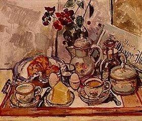 Felix Esterl: Frühstückstisch