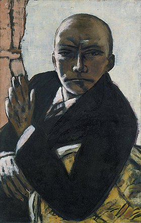 Max Beckmann: Selbstbildnis