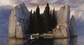 Arnold Böcklin: Die Toteninsel. 1883 (Dritte Fassung von fünf)