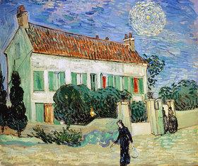 Vincent van Gogh: Weißes Haus bei Nacht