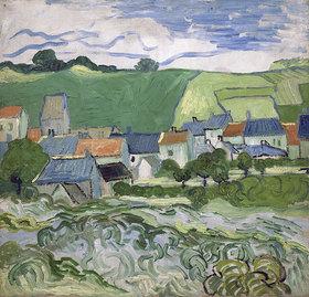 Vincent van Gogh: Blick auf Auvers. Auvers-sur-Oise, Mai - Juni