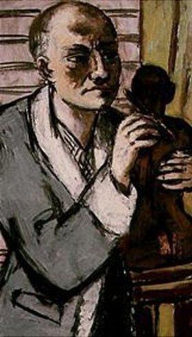 Max Beckmann: Selbstbildnis im grauen Schlafrock