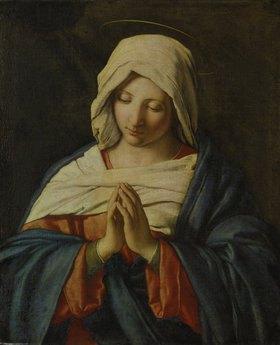 Giovanni Battista (Sassoferrato) Salvi: Betende Madonna
