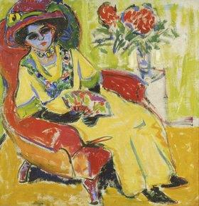 Ernst Ludwig Kirchner: Bildnis Dodo