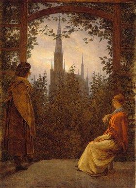 Caspar David Friedrich: Gartenlaube