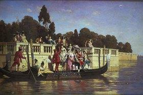 Franz Leo Ruben: Eine elegante Bootsparty