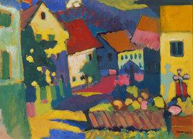 Wassily Kandinsky: Straße in Murnau