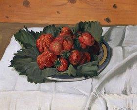 Felix Vallotton: Stilleben mit Erdbeeren
