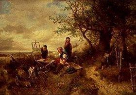 Mari (Johann M. Henri) Ten Kate: Der Maler ist abwesend!