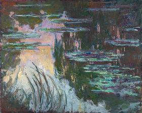 Claude Monet: Seerosen im Abendlicht