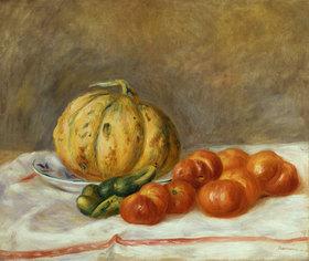 Auguste Renoir: Melone und Tomaten