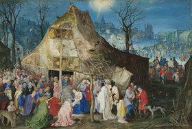 Jan Brueghel d.Ä.: Die Anbetung der Könige