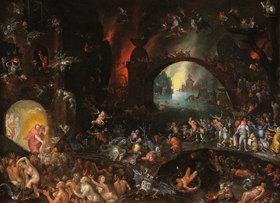 Jan Brueghel d.Ä.: Christi Abstieg in die Unterwelt