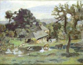 Pierre Bonnard: Landschaft mit Bauernhaus