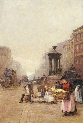 Rose Maynard Barton: Blumenverkäuferin in London (in der Straße Strand)