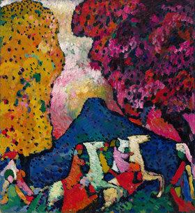 Wassily Kandinsky: Der blaue Berg
