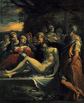 Parmigianino (Francesco Mazzola): Die Grablegung Jesu
