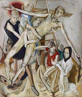Max Beckmann: Kreuzabnahme