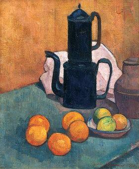 Emile Bernard: Die blaue Kaffeekanne