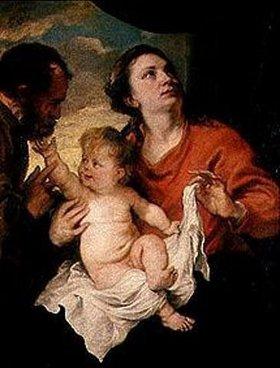 Anthonis van Dyck: Die heilige Familie