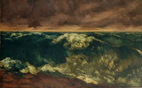 Gustave Courbet: Brandungswelle