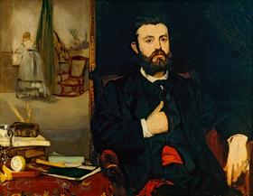 Edouard Manet: Bildnis des Dichters Zacharie Astruc