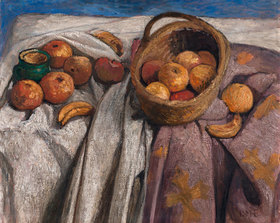 Paula Modersohn-Becker: Stillleben mit Äpfeln und Bananen