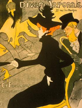 Henri de Toulouse-Lautrec: Divan Japonais