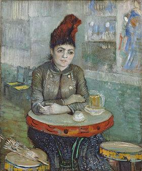Vincent van Gogh: Agostina Segatori im Café Le Tambourin