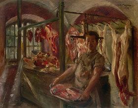Lovis Corinth: Schlachterladen in Schäftlarn