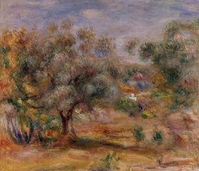 Auguste Renoir: Olivenbaum in Les Collettes