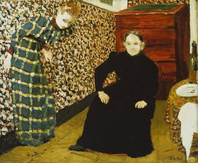 Edouard Vuillard: Mutter und Schwester des Künstlers