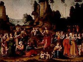 Bacchiacca (Francesco Umbertini Verdi): Predigt Johannes des Täufers