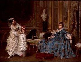 Joseph Caraud: Beim Ankleiden