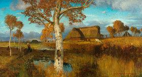 Otto Modersohn: Herbst im Moor