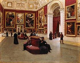 Johann Lorenz Maaß: Der Rubenssaal in der Alten Pinakothek München