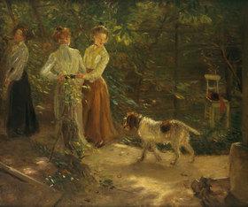 Fritz von Uhde: Der Gartenweg