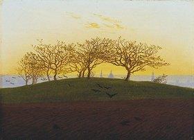 Caspar David Friedrich: Hügel mit Bruchacker bei Dresden