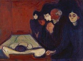 Edvard Munch: Am Sterbebett