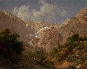 Georg Haeselich: Tiroler Landschaft