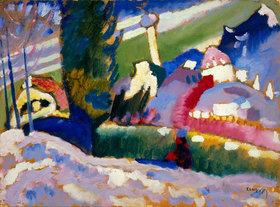 Wassily Kandinsky: Winterlandschaft mit Kirche